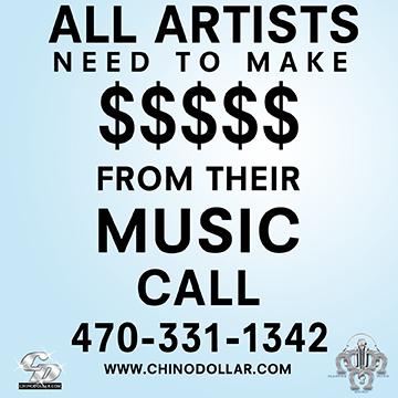 Music Artst Make Money from music. Atlanta GA